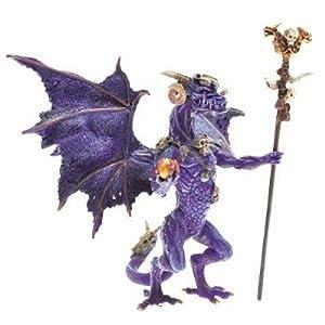 Plastoy 60229 - Dragón en Miniatura, Color Morado