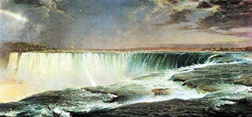 Das Museum Outlet-Art Postkarte-Niagara Falls by Frederick Edwin Church-Set 12Stück Postkarten