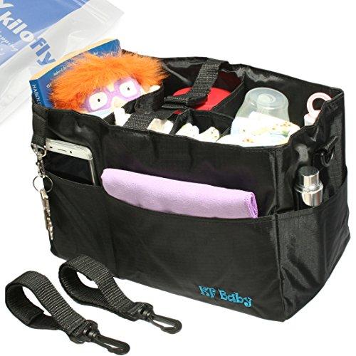 kf-baby-diaper-bag-insert-stroller-organizer-w-handle-2-attachable-straps