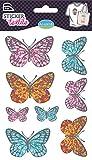 Unbekannt Aladine Schmetterlingen Textil Aufkleber (8-Teilig)