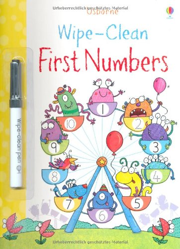 Wipe-Clean First Numbers (Wipe Clean Books)