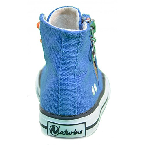 Naturino - Naturino Kinderschuhe Blau Textil 2540 Blau