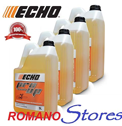 Echo Olio Protettivo Catena PRO UP Motosega Chain Oil Ecologico 4 TANICHE da 5Lt.