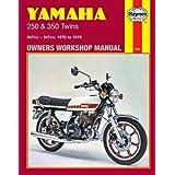 Haynes Yamaha 250 & 350 Twins: 247cc - 347cc. - 1970 to 1979