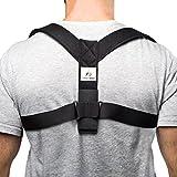Supportiback® Rückenstützgürtel & Geradehalter zur Haltungskorrektur – Haltungstrainer & Rückengürtel gegen Rückenschmerzen – stark gepolsterte Gurte & anpassbares Design für bessere Körperhaltung