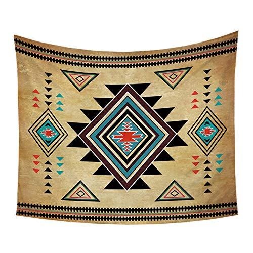 e Outlet Geometrische Wandbehang Anhänger Südwestlichen Amerikanischen Ureinwohner Dekorative Wandkunst Aztec Quilts Sheets 150X200 cm, 150 * 200 cm ()