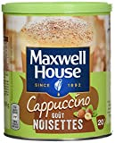 Maxwell House Cappuccino Noisettes Boite Fer 305 g - Lot de 3