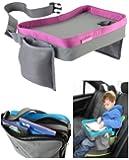 Travel Snack e Play Tray da viaggio, support per bambini - auto, vassoio, passeggino