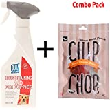 Bramton - Chip Chops Combo Of Out Puppy Toilet Training Spray - 500 Ml & Dog Snacks 70Gms