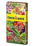Floragard Bio Mini Garten ohne Torf 40 L, torffreie Bio-Erde für Zierpflanzen und Gemüse, Grow Bag zur Pflanzung direkt im Sack