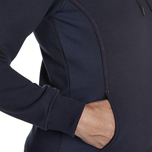 Logo CCC de Canterbury femmes Princesse à capuche pour homme–Bleu marine, Taille Bleu - Bleu roi