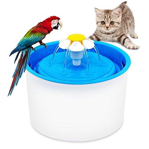 bebedero redondo fuente para gatitos