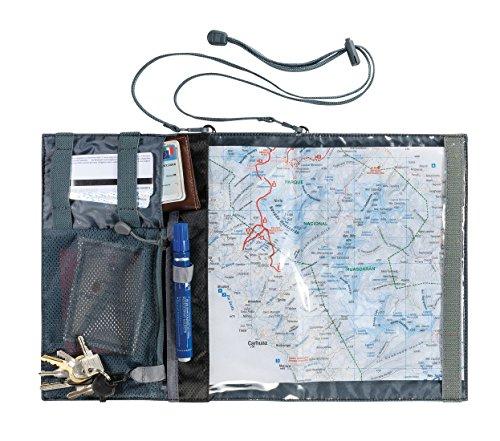 Ferrino Shell Map Porta Mappa e Documenti, Nero, M