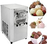 Buoqua 1500W Ice Cream Machine 15-22L/Hour Ice Cream Maker Handels-harte Frozen Yoghurt Maschine Eiscreme-Maschine Digitalanzeige Edelstahl Eismaschine Maschine (1500W)