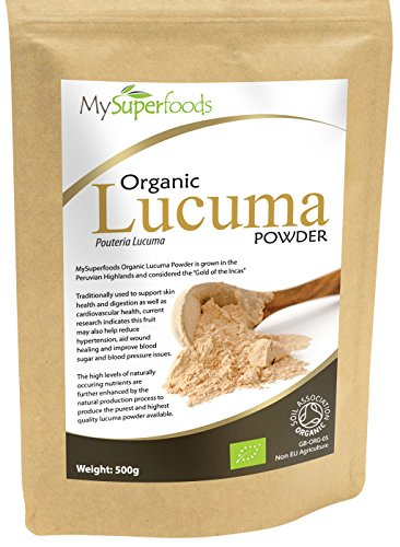 Organic Lucuma Powder (500g) | Highest Quality Available | By MySuperfoods Test