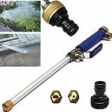 Kasit High Pressure Spray Gun High Pressure Power Washer Spray Nozzle Water Hose Wand Attachment