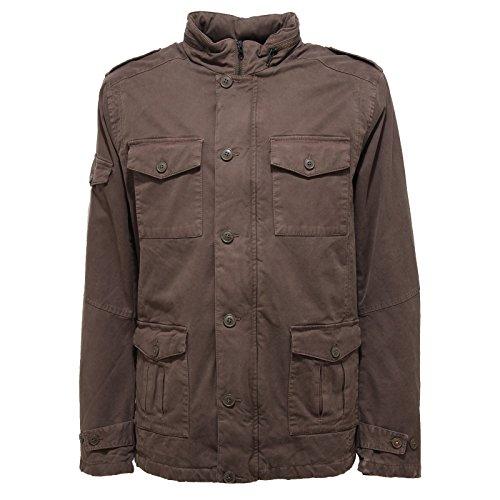 0855V giubbotto uomo SUN 68 verde militare green jacket men verde militare