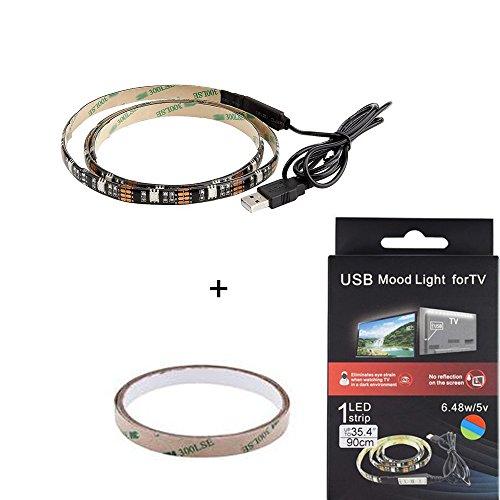 Lononvie USB 5V Alimentato 35,4 pollici per la TV o