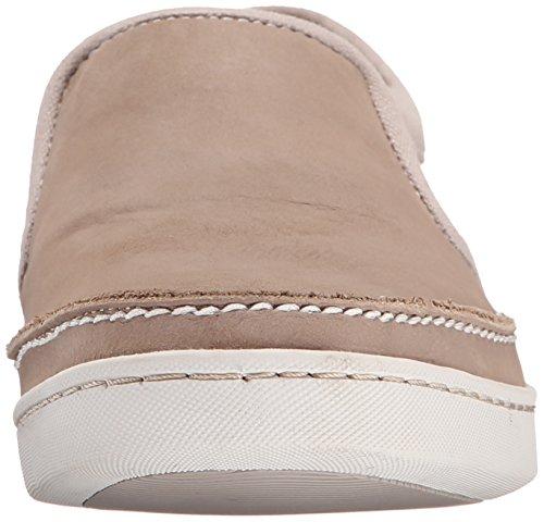 Sebago Mens Ryde Slip-On Loafer Light Grey Leather