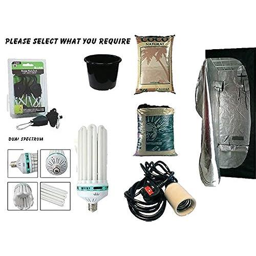 Best Complete Hydroponic Small Grow Room Tent Canna CFL Light Kit 40x40x140 (0.4x0.4x1.4Meter (40x40x140))  sc 1 st  Amazon UK & Small Grow Tent: Amazon.co.uk