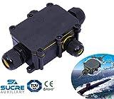Sucre AUX® 24A 450V AC 4Wege IP68Wasserdicht Elektrisches Kabel Wire Connector Abzweigdose