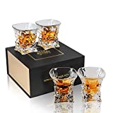 KANARS WG05 Set di 4 Bicchieri da Whisky Cristallo 230ml…