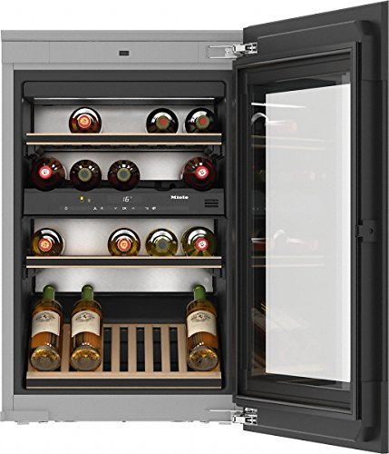 Miele KWT 6422 iG Incasso Cantinetta termoelettrica Nero 33bottiglia/bottiglie A cantina vino