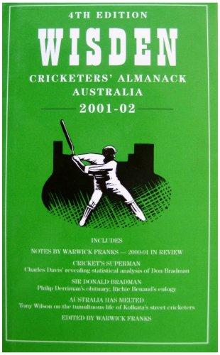 Wisden Crick Almanack Aust 2001-2002