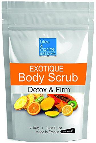 Lotus Natural (3en1 Ananas Papaya Lotus Körperpeeling.Wellness pur für Ihre Sinne! 100% Natural Detox und Nährende Feuchtigkeitsspendende 100 g ● 3in1 Reinigt, schützt und befeuchtet die Haut zugleich)