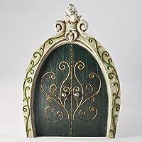 Decoración para árbol del jardín, diseño de Anthony Fisher en forma de puerta de duende, elfo o hada