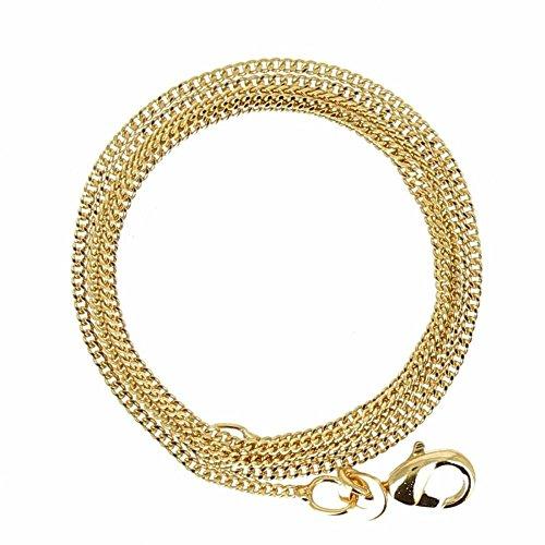 Isady – Gold Kette – 38 cm – 18 Karat (750) Gelbgold platiert – Standard Kette