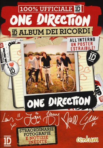 One Direction. 1D album dei ricordi. 100% ufficiale 1D. Con adesivi. Con poster