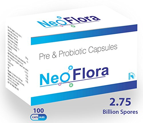 Carbamide Forte Prebiotics and Probiotics NeoFlora Supplement - 100 Capsules