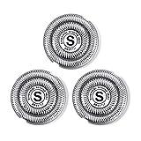 SweetLF Pack de 3 Têtes de Rasoir Rotatives SW-BC08 pour SweetLF Rasoir Electrique Homme