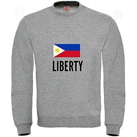 Felpa Liberty city Gray