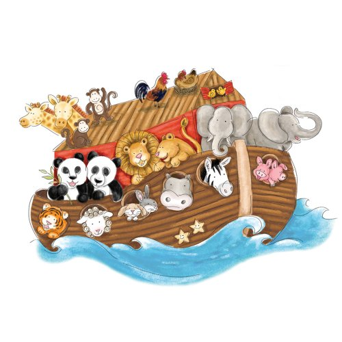 roommates-noahs-ark-repositionable-childrens-wall-stickers-multi-colour