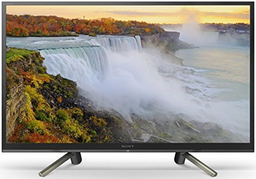 Sony 80 cm (32 inches) HD Ready Smart LED TV KLV-32W622F (Black) (2018 model)