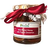 Farm Naturelle-Cinnamon Infused Pure Raw Natural Forest Honey And Big Delicious Figs (Anjeer)-250 Gms-Diwali Health...