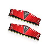 XPG by ADATA Z1 DDR4 2400MHz (PC4 19200) 8GB (4GBx2) Memory Modules, Red (AX4U2400W4G16-DRZ)