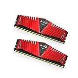 ADATA 8GB DDR4-2800 8GB DDR4 2133MHz módulo de - Memoria (8 GB, 2 x 4 GB, DDR4, 2133 MHz, Rojo)