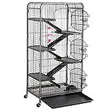 Yaheetech 131cm Large Pet Cage for Adult Rat Chinchilla Rabbit Ferret Rodent Guinea