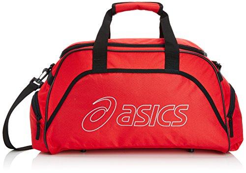 ASICS Sporttasche Medium Duffle - Bolsa de Deporte, Color Rojo, Talla 55.0 x 28.0 x 28.0 cm