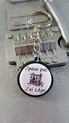 Porte Clé J'peux pas J'ai Légo