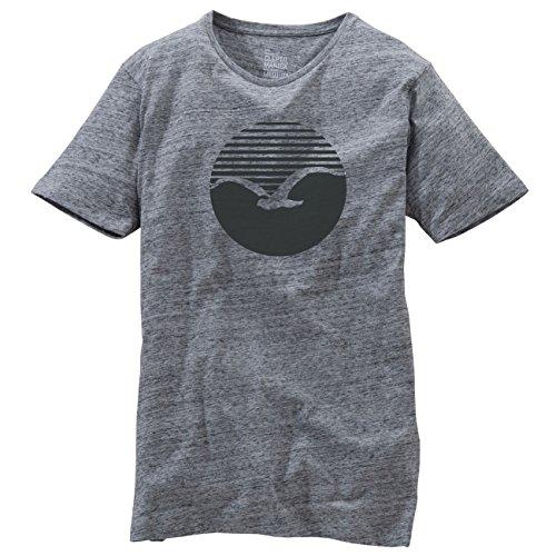 Cleptomanicx Herren Sweatshirt Vintage Gray / Black