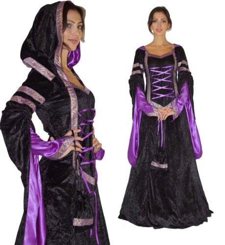 Maylynn 12202-S-M - Mittelalter Kostüm Melina Burgfräulein, 2-teilig, Größe S/M