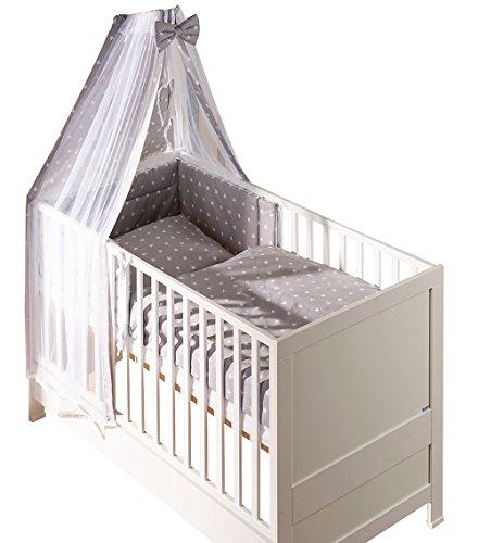 Belivin - Belivin® Baby & Juniorbett Milano inkl. Bettwäsche komplett Set - 140x70cm, 15 Kollektion Classic