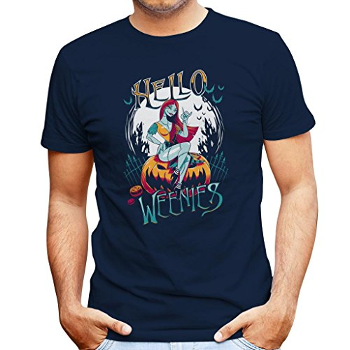 Hello Weenies Sally Nightmare Before Christmas Men's T-Shirt