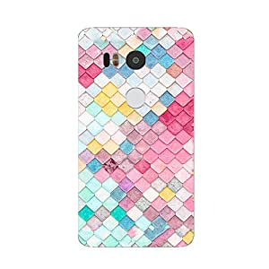 Back cover for Nexus 5X Colourful Tiles
