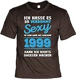 Mega-Shirt Cooles T-Shirt Zum 19. Geburtstag T-Shirt .Baujahr 1999 Geschenk Zum 19 Geburtstag 19 Jahre Geburtstagsgeschenk 19-Jähriger