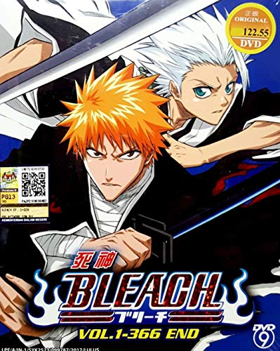 BLEACH - COMPLETE ANIME TV SERIES DVD BOX SET (366 EPISODES)